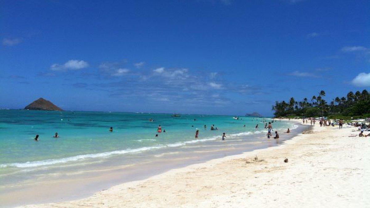 File image of Lanikai Beach, Oahu. (Image: Hawaii News Now)