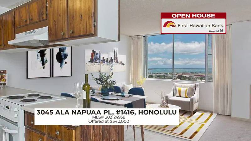 Open House: Cozy unit with beautiful views in Honolulu and charming home in Pearl City