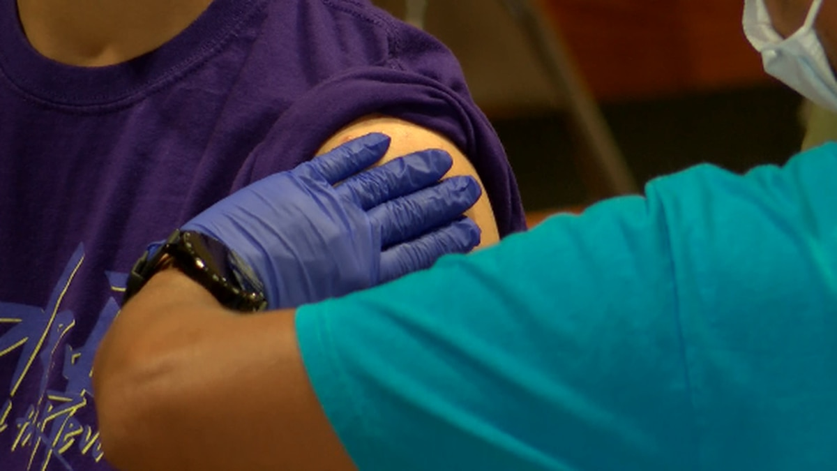 The Queen's Health System held a vaccine clinic at McKinley High School Saturday from 10 a.m. -...