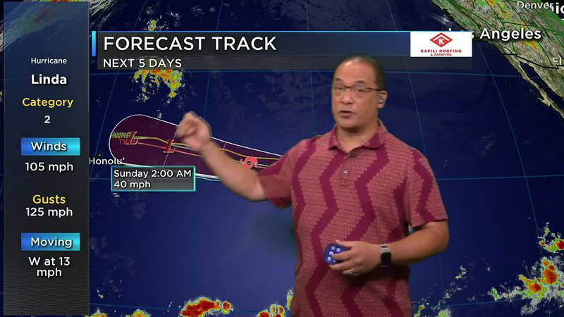 Billy V updates you on Hurricane Linda, return of trade wind weather and south shore surf.