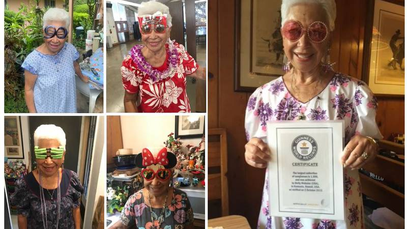 Betty Webster was a world record holder. She died late September at the age of 92.