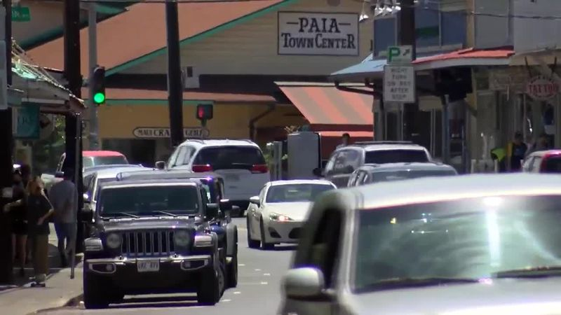 All over Hawaii, the return of tourism means the return of traffic.