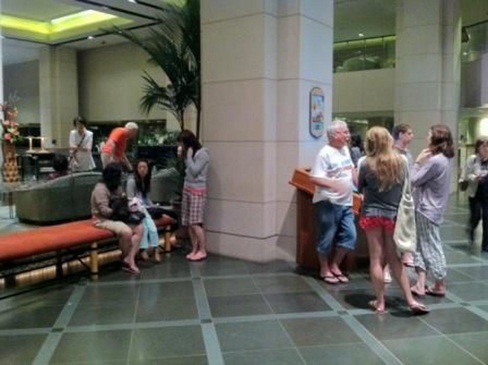 Hawaii Prince Hotel guests evacuated