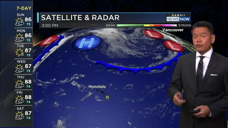 Showers are still possible during the overnight and morning hours for windward areas.