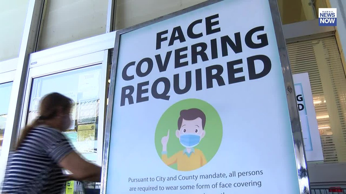 Everyone is now required to wear a face mask in most public settings on Oahu, including on the...