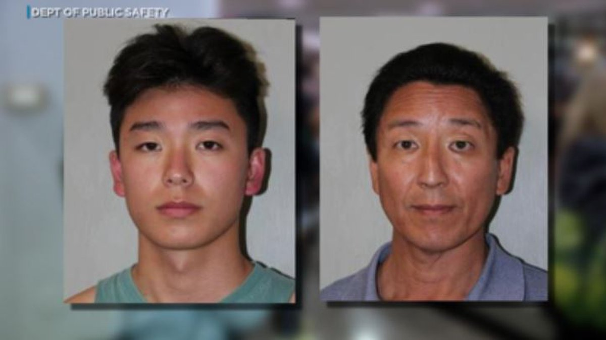 Norbert Chung and Trevor Chung were arrested Sunday.