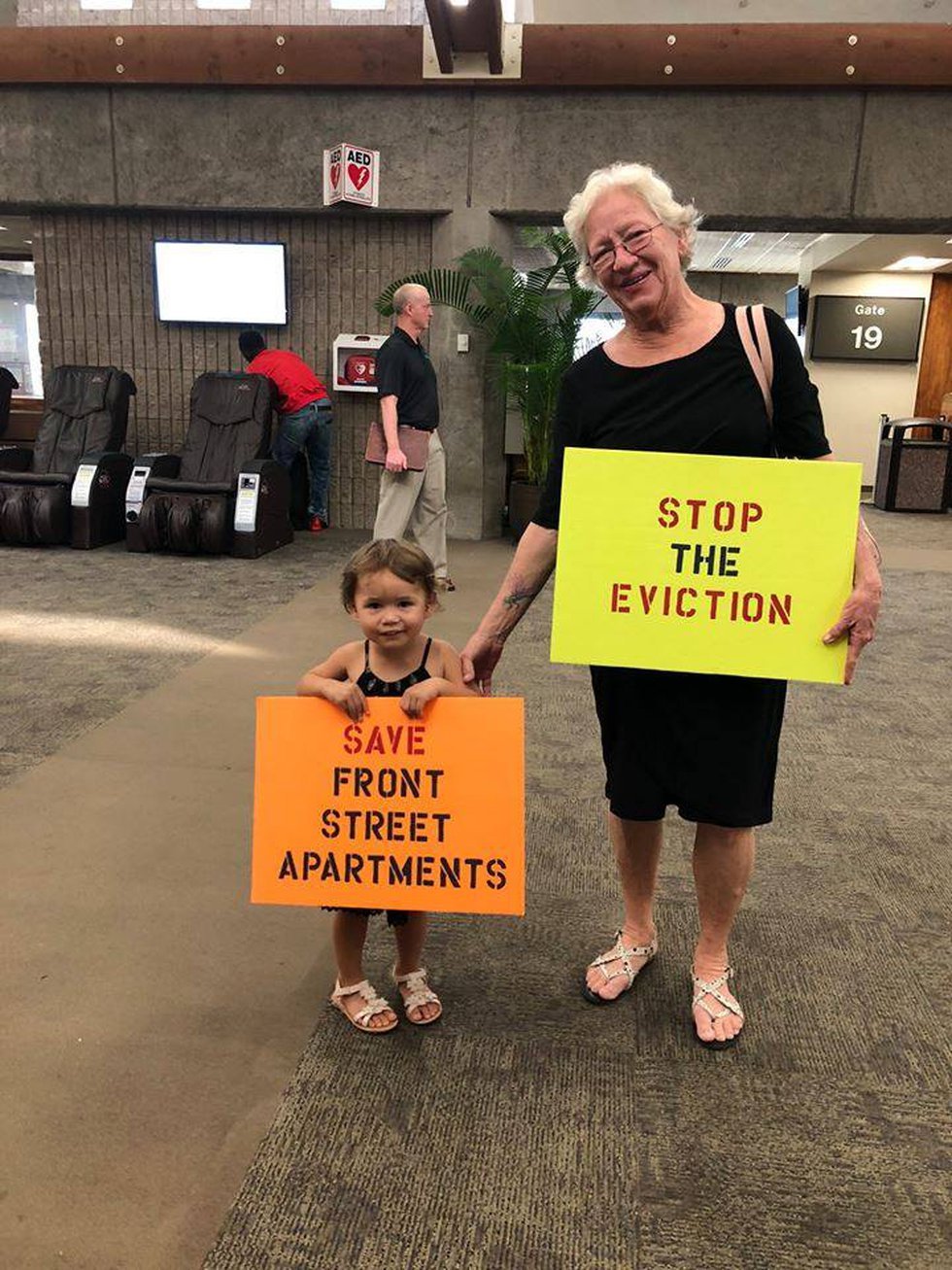 (Image: Save Front Street Apartments/Facebook)