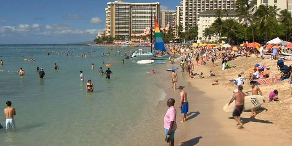 Hawaii is seeing a tourism boom. The governor isn't sure it will last.