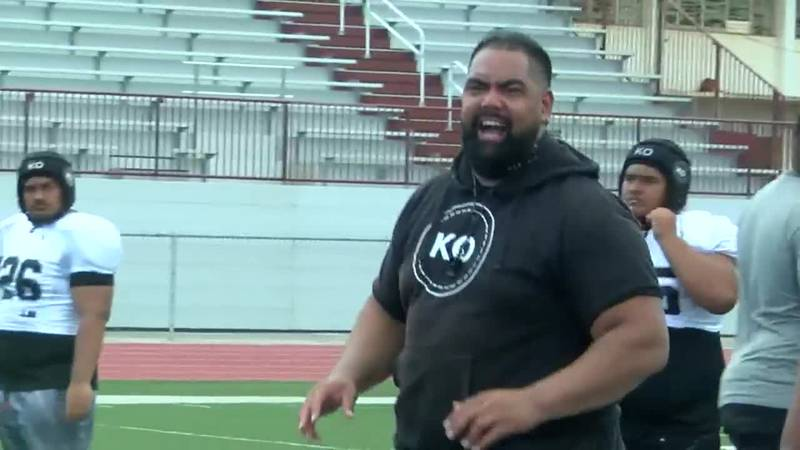Former 'Bows host lineman camp for local athletes who lost season due to the pandemic