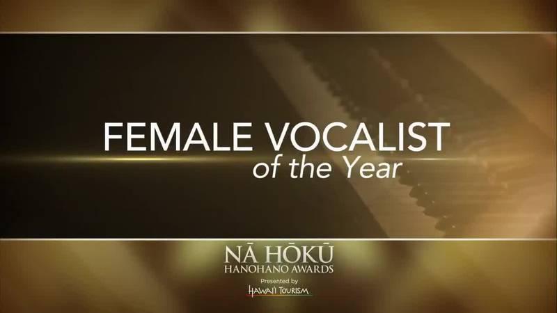 2019 Na Hoku Hanohano Awards: Female Vocalist of the Year