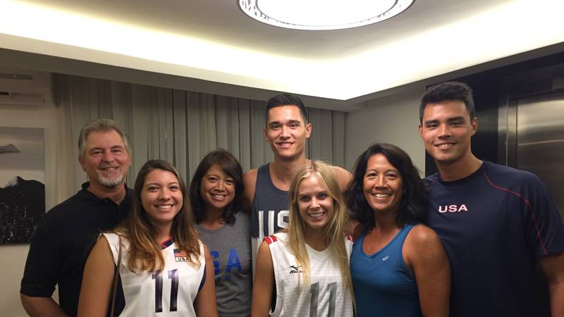 Hawaii News Now spoke with the families of three of Hawaii's Olympians who all had plans to be...