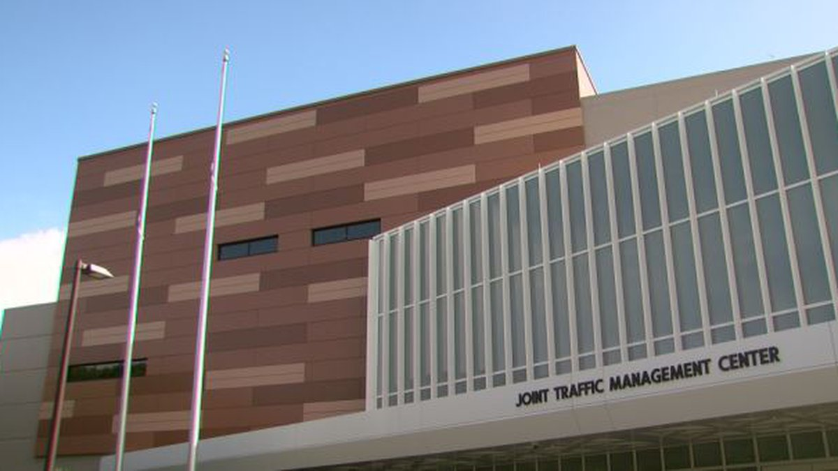 The city's new Traffic Management Center is designed to put the operations of several city...