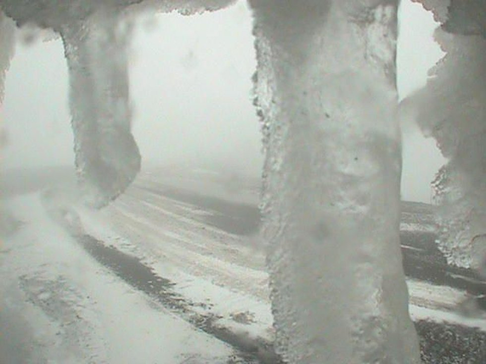 Photo taken from Summit of Mauna Kea Wednesday