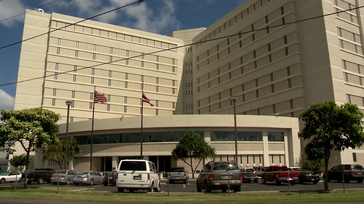 The Federal Detention Center is located near the Honolulu Airport.