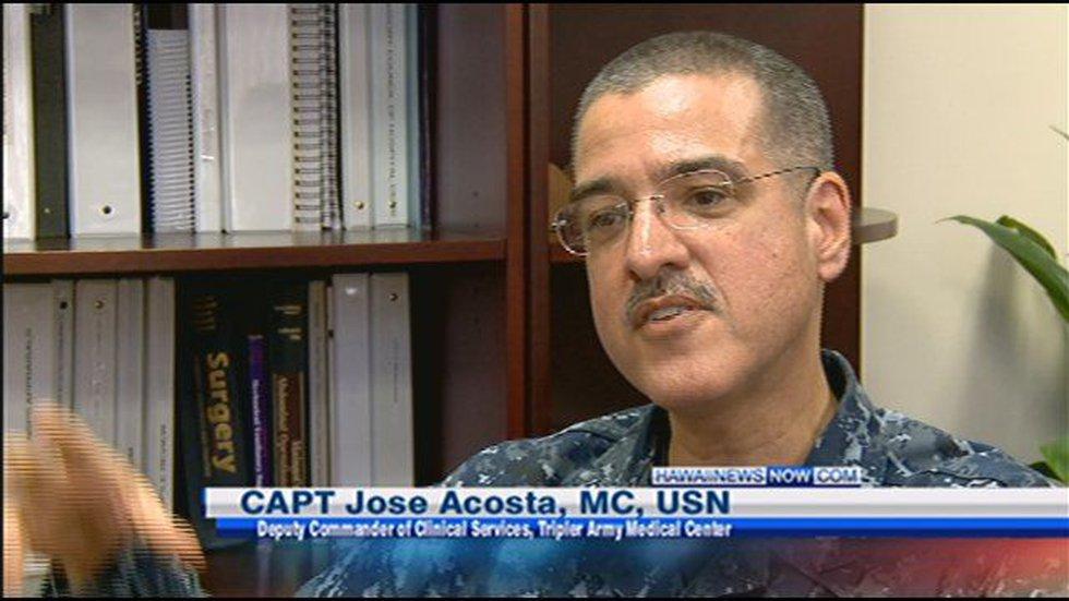 Navy Capt. Jose Acosta