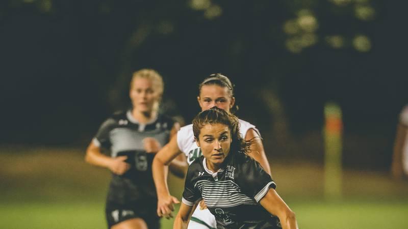 The University of Hawaii women's soccer returned to Waipio Thursday night, falling to Cal Poly...