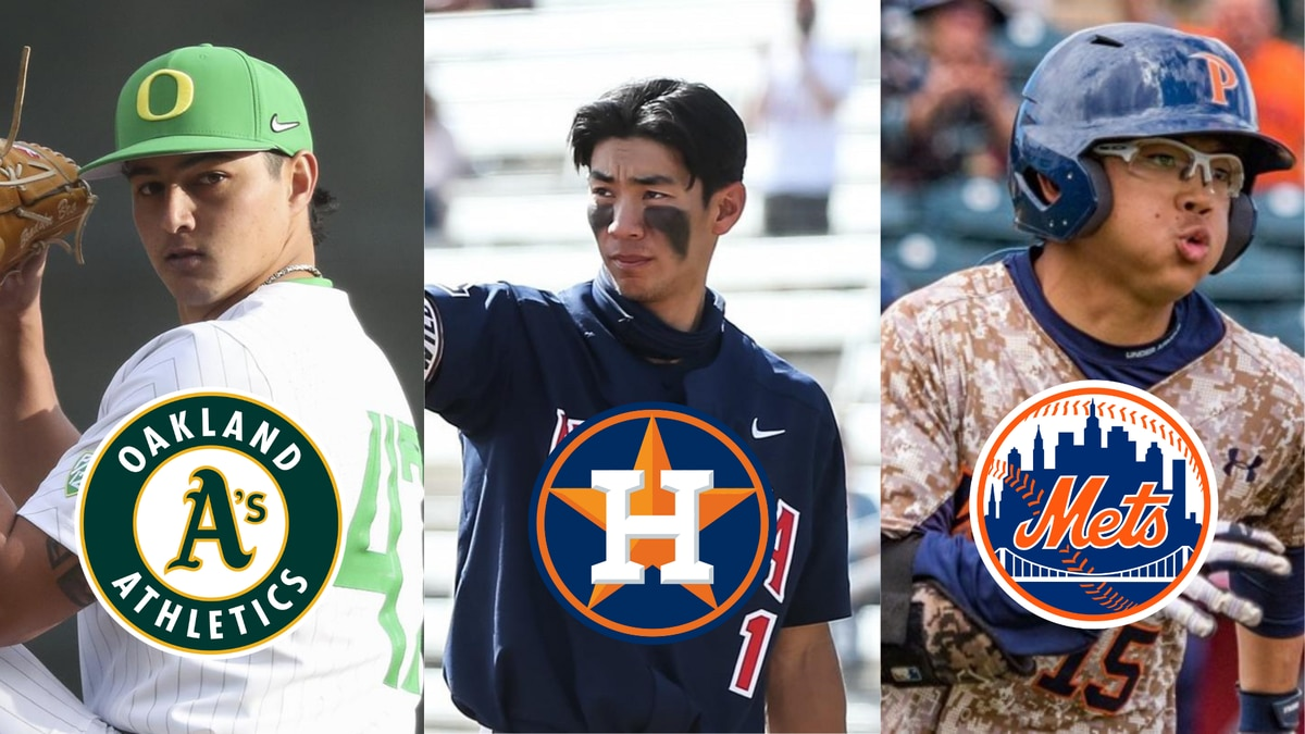 On the final day of the 2021 MLB Draft, three more Hawaii boys heard their name called to the...