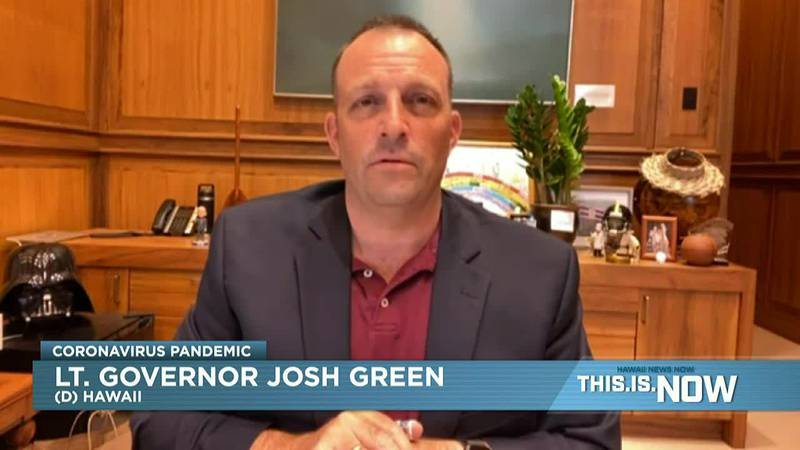 Lt. Gov. Josh Green was interviewed on This.Is.Now Tuesday.