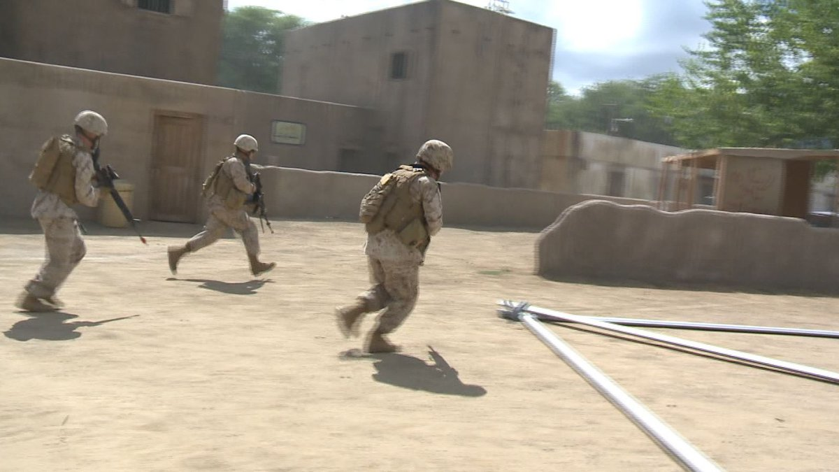 The training will simulate real-life events.