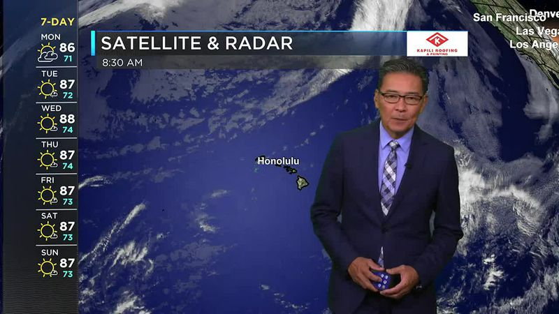 Morning Weather Forecast from Hawaii News Now Monday, May 31, 2021