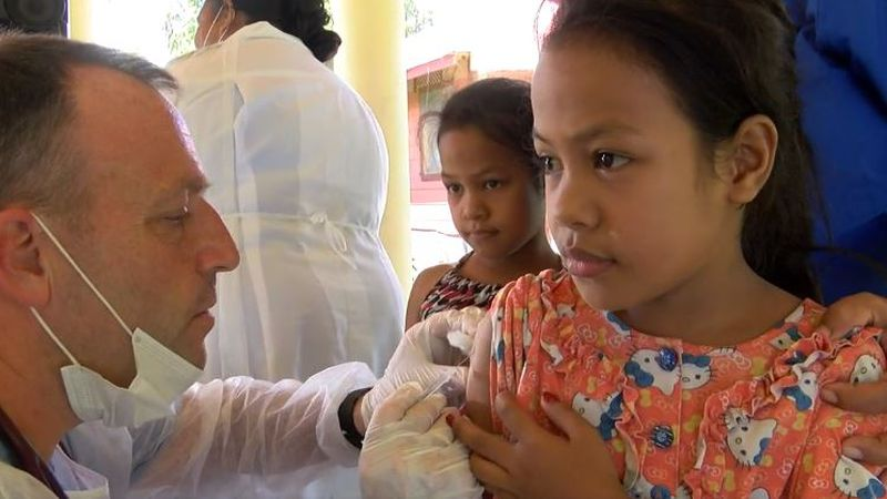 It's been a year since a team of health care providers from Hawaii touched down in Samoa to...
