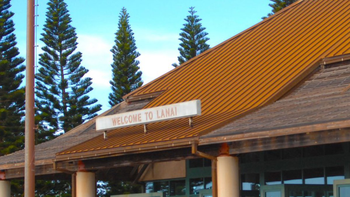 Lanai Airport is getting millions from the federal government for improvements.