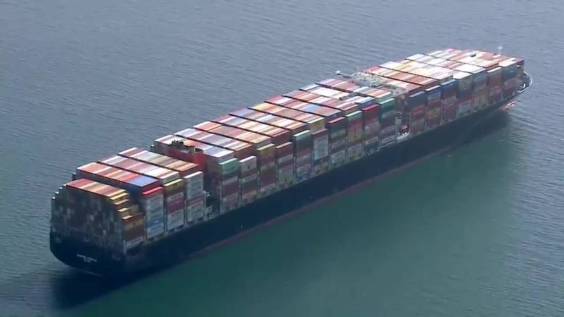 The video of a record number of cargo ships waiting to port in Los Angeles this week tells much...