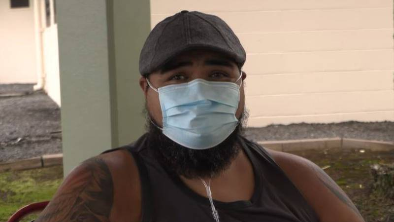 The 45 year-old Puna man was close to deciding to get a shot when the virus hit him and his...