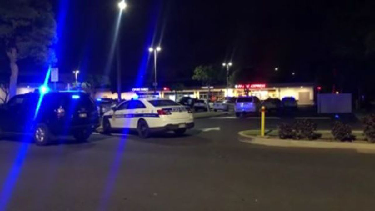 Police investigated into the night Friday.