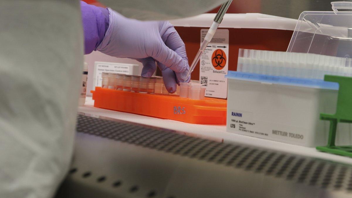COVID testing/FILE