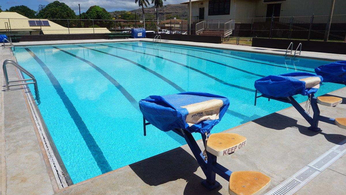 File photo of the Waimea public swimming pool on the island of Kauai. (Image: Kauai County)