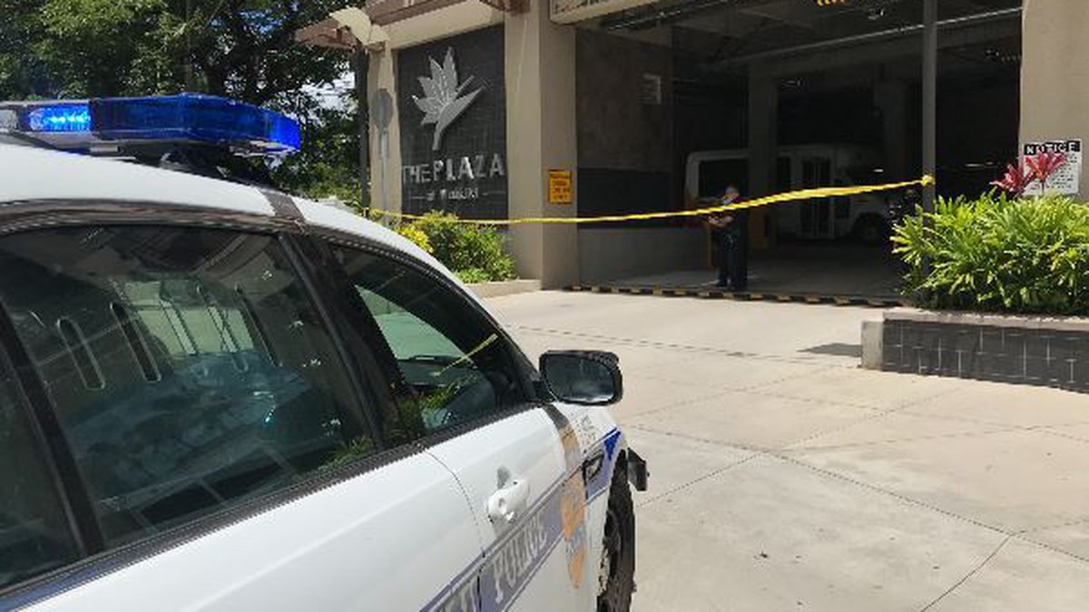 A shooting at the Plaza at Waikiki left two people dead on Tuesday.