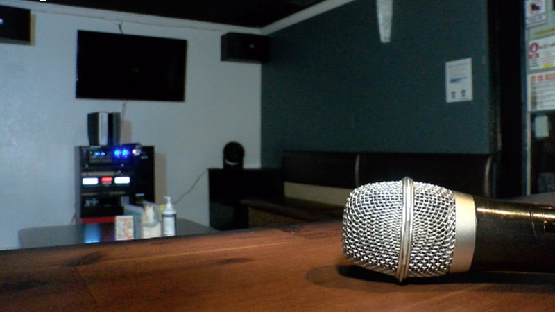 At Pandora Cafe, Agno says patron are not allowed to sing karaoke without a mask.