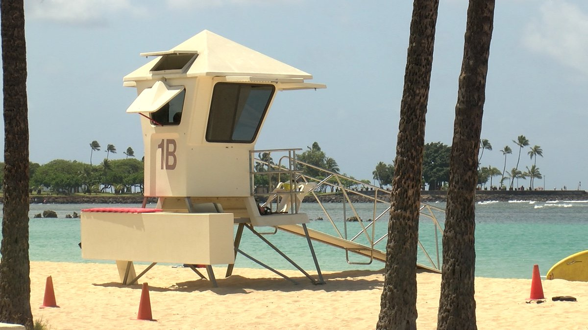 Honolulu Ocean Safety said it plans to close one to two towers each day.