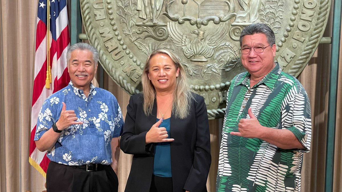 Governor Ige appoints Lynn DeCoite to State Senate seat.