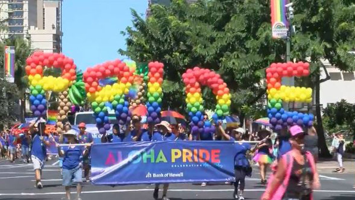 PRIDE: Thousands flock to Waikiki for annual gay pride parade and festival.