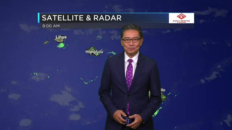 Morning Weather Forecast from Hawaii News Now - Monday, October 25, 2021