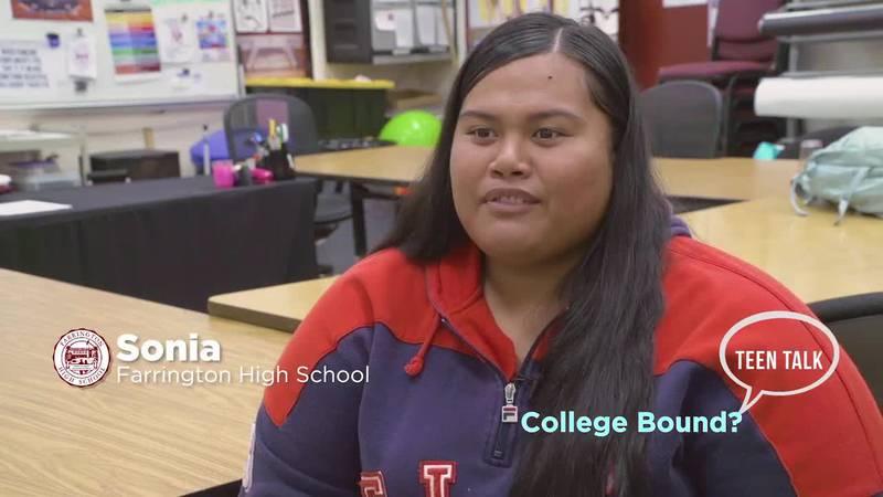 Teen Talk: College Bound