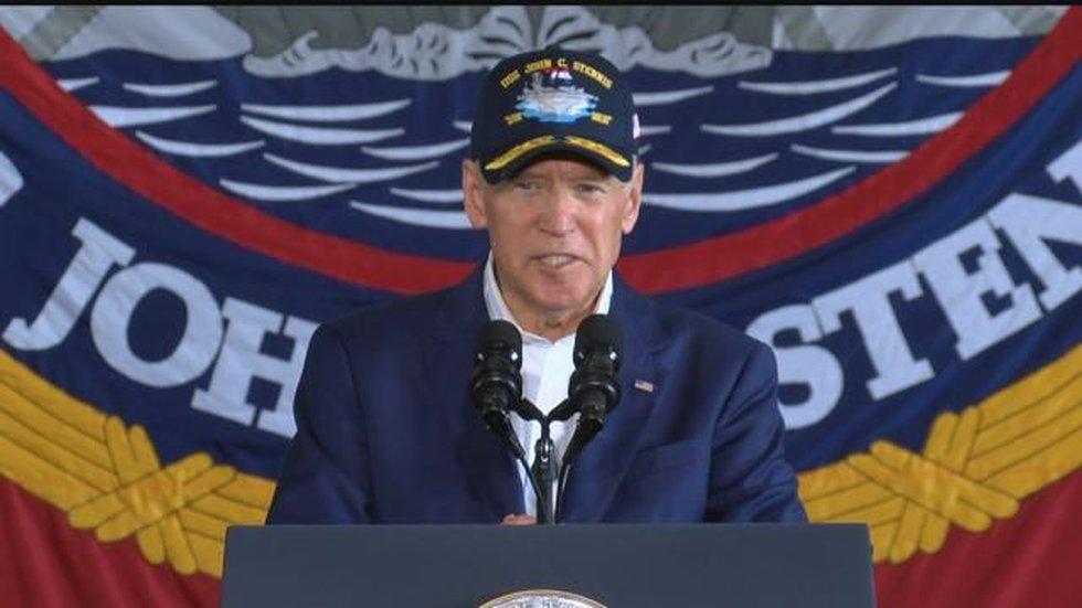 Vice President Biden (Image: Hawaii News Now)