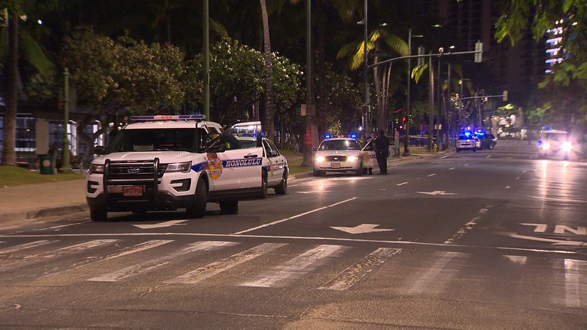 Police investigated a deadly Waikiki stabbing in June.