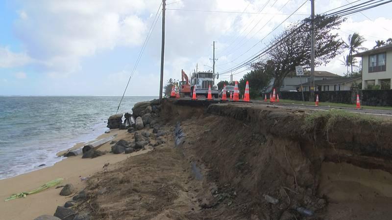 Erosion in Hauula