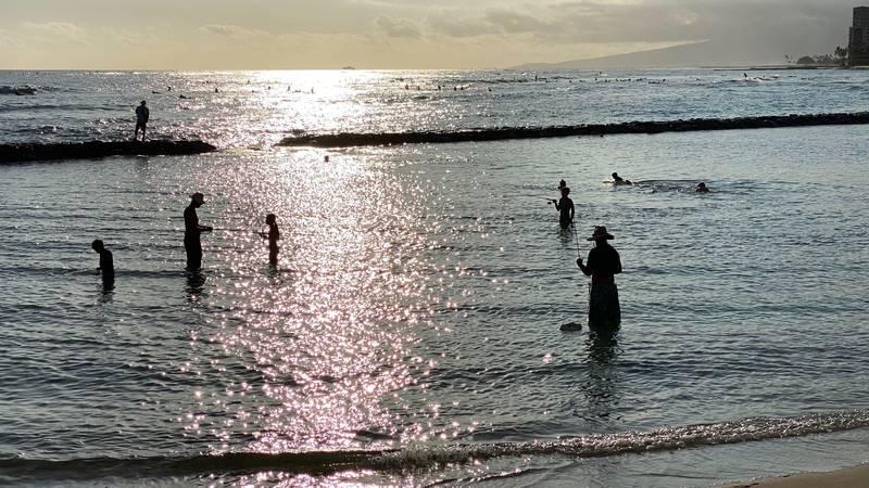 Location: Waikiki Beach / April 20, 2020