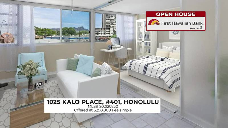 Open House: Newly renovated corner unit at University Villa and a well-maintained unit in Waikiki