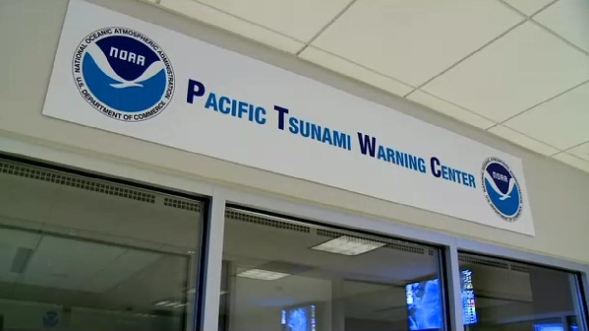 Pacific Tsunami Warning Center debunked a false alert Tuesday.