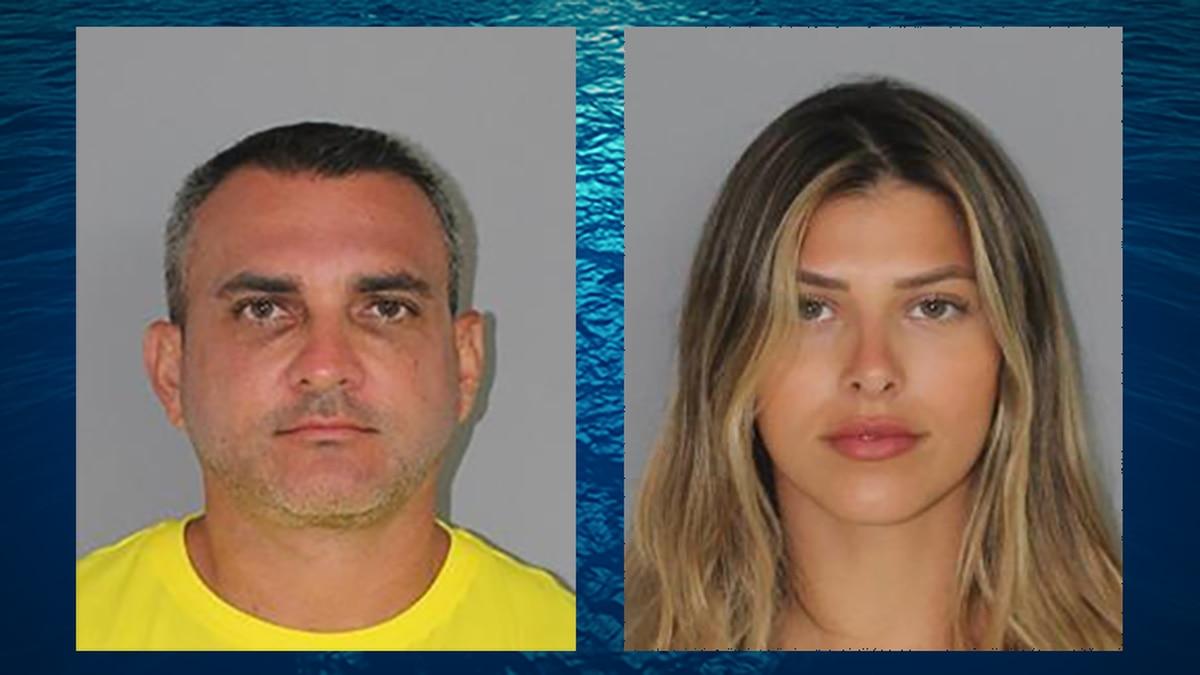 Enzo Dalmazzo (left) and Daniela Dalmazzo (right) were arrested on suspicion of using fake...