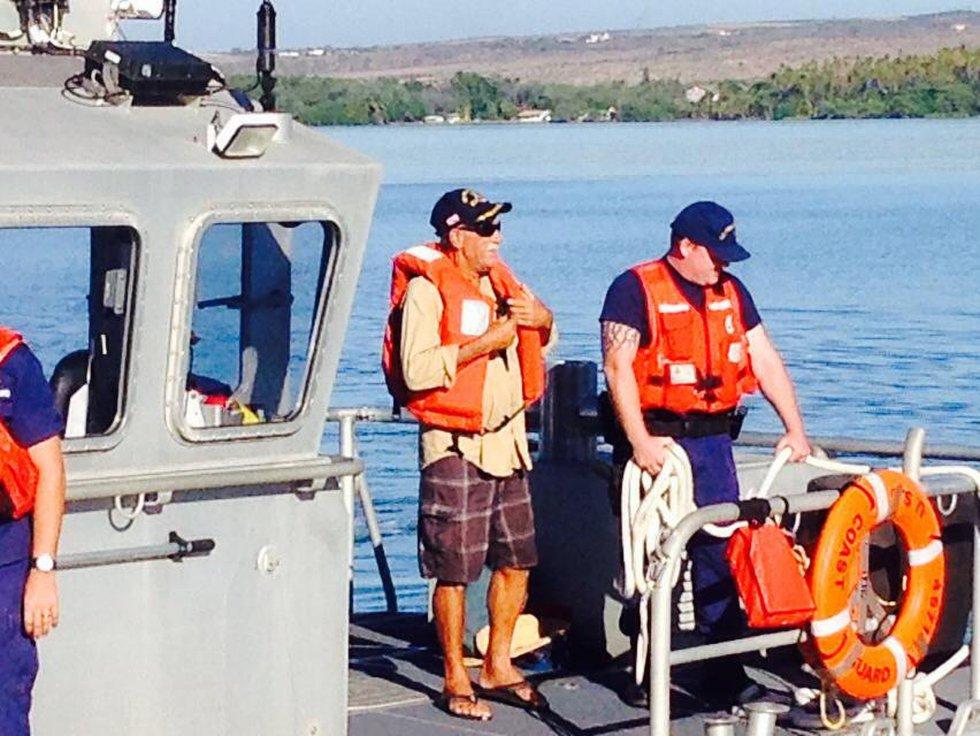 Ron Ingram returned to Molokai on Wednesday