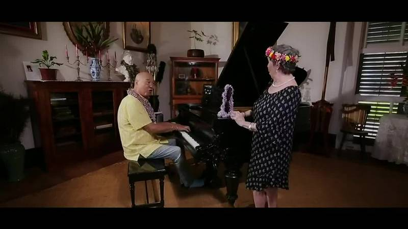 Robert Cazimero and Nina Kealiʻiwahamana