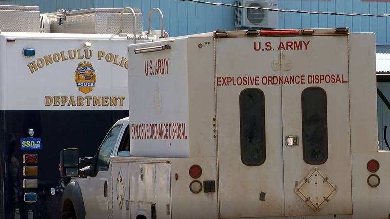 Agents said they immediately called the bomb squad when they made the discovery.