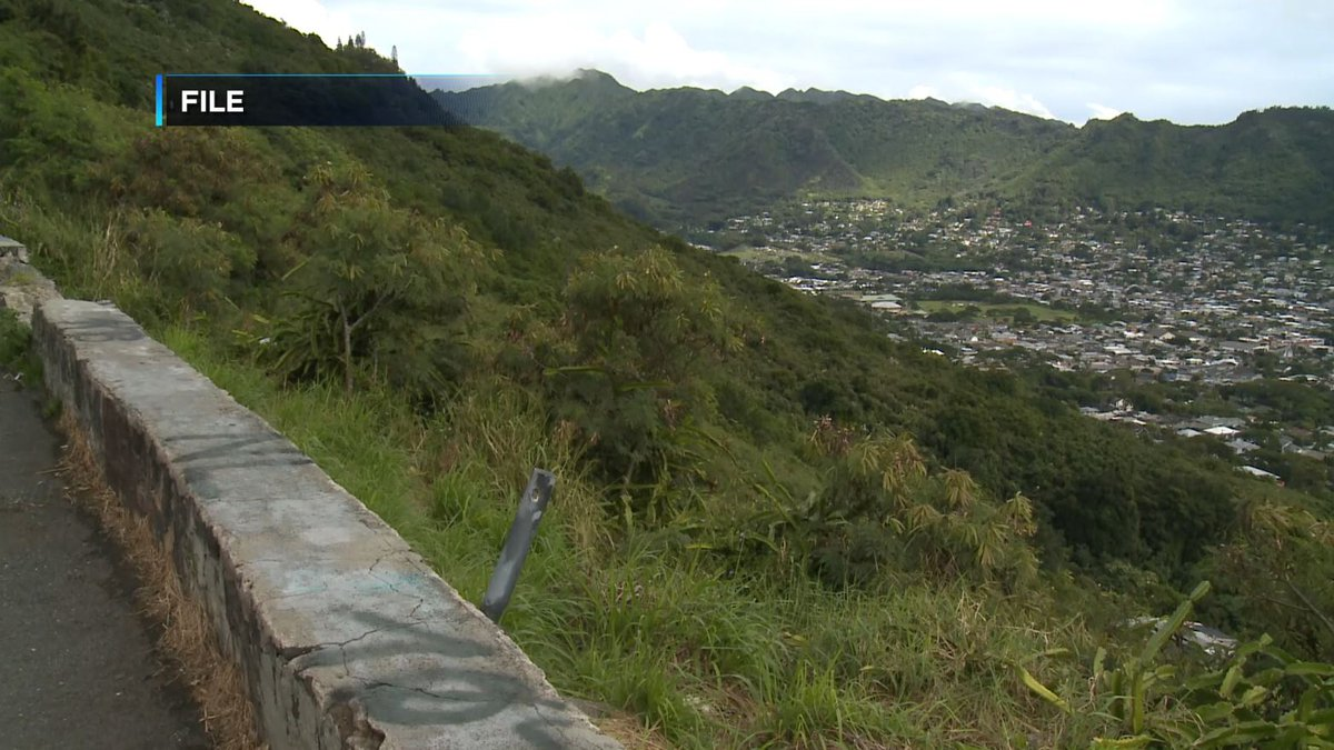 The body was found by hikes in the Tantalus area.